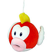 "Official Nintendo Mario Plush Series Stuffed Toy - 6"" Pukupuku / Cheep Cheep"