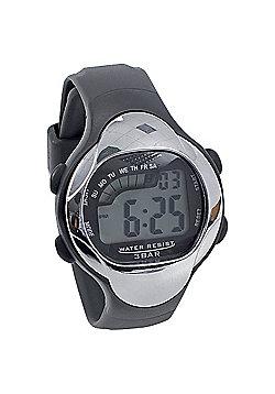 Precision Waterproof Wristwatch Large Display Abs Case Pvc Strap Watch