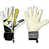 Precision Gk Brasiliero Hybrid Supersoft Junior Goalkeeper Gloves - White