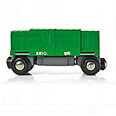 Brio Box Car, wooden toy