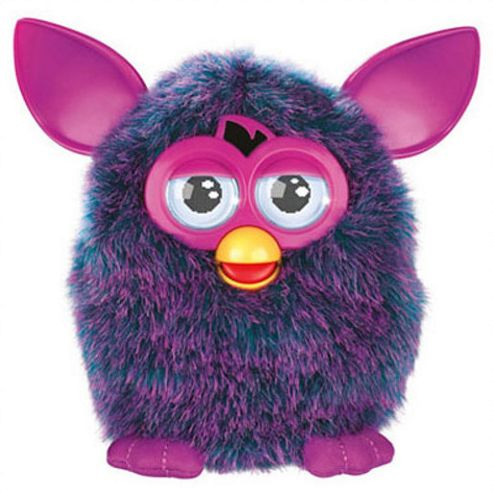 Furby Interactive Soft Toy Pink & Purple