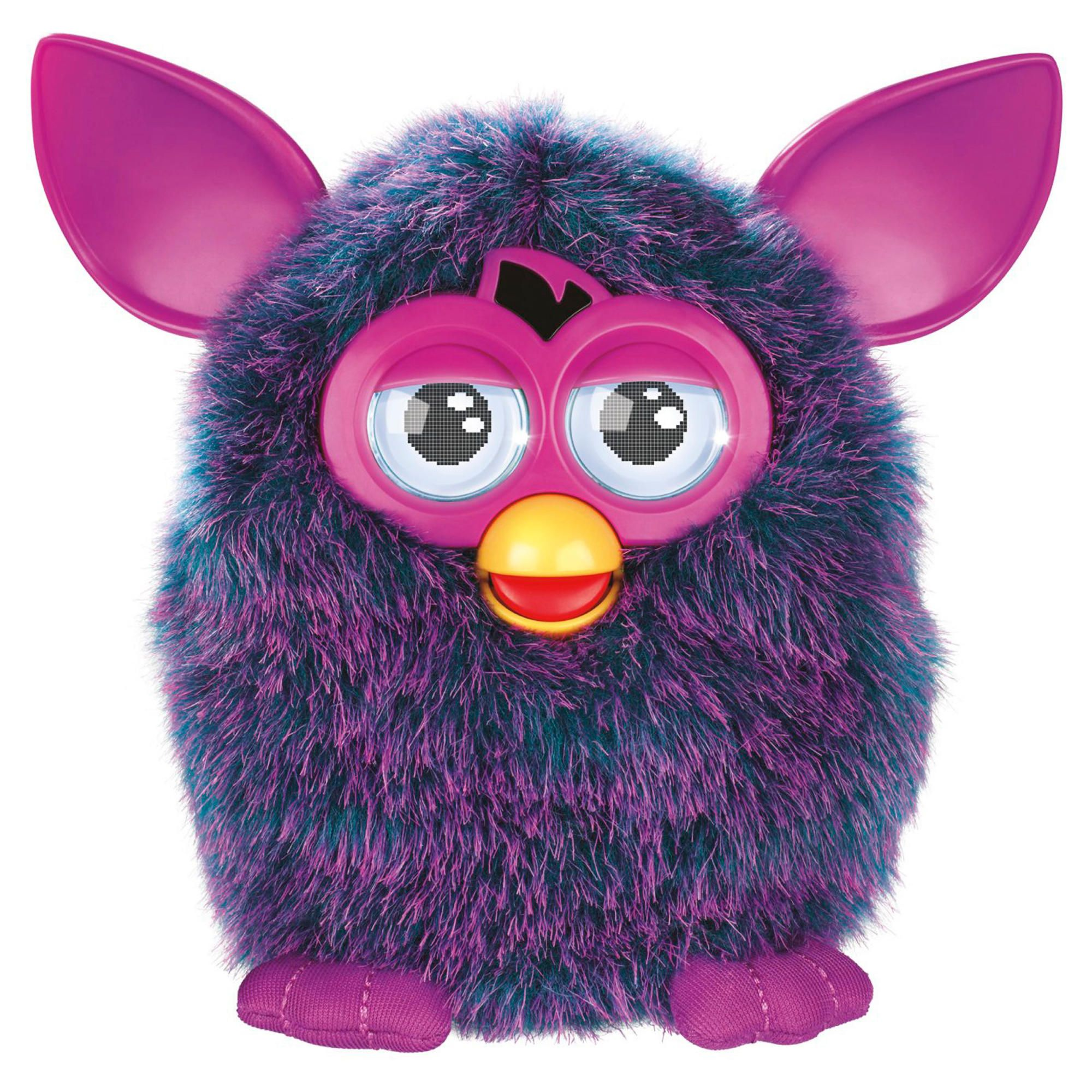 Furby Interactive Soft Toy Pink and Purple
