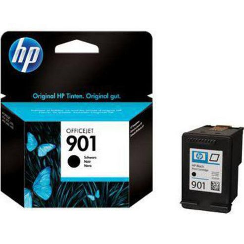 Hewlett-Packard CC653AE 901 Ink Cartridge - Black
