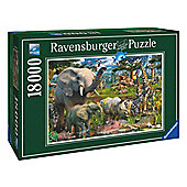 At The Waterhole 18000 Piece Puzzle - Ravensburger