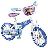 """Disney Frozen Sisters Forever 16"""" Kids' Bike with Stabilisers"""