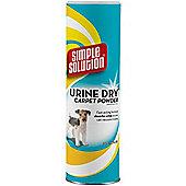 Simple Solution Urine Dry Carpet Powder Absorbs Pet Dog Cat Urine Vacuum Away