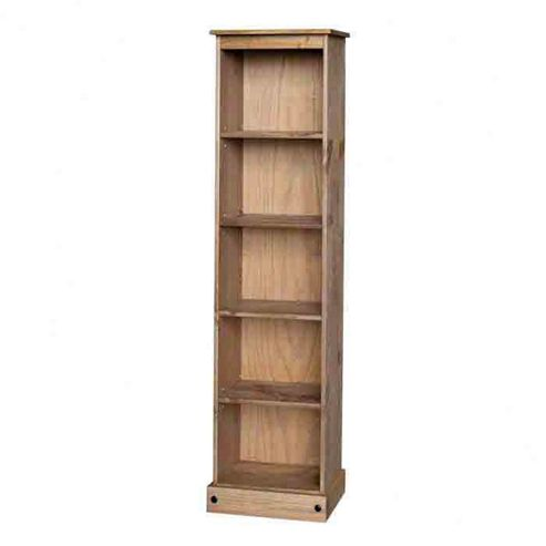 Home Essence New Corona Tall Narrow Bookcase