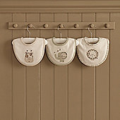 Natures Purest Sleepy Safari Bibs 3 pack