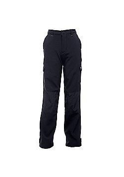 Regatta Kids Winter Softshell Walking Trousers - Black