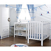 Obaby Lily 3 Piece Furniture Set - White