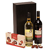 two napa valley wines & chocs (OU64)