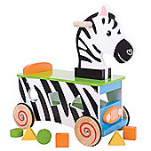 Bigjigs Toys BB028 Zebra Ride On