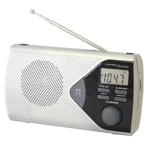 Lloytron N2401SV Romeo AM/FM Portable Radio