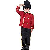 Child Guardsman Costume Medium