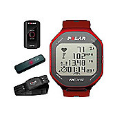 Polar RCX5 RED GPS Edition HRM Heart Rate Watch