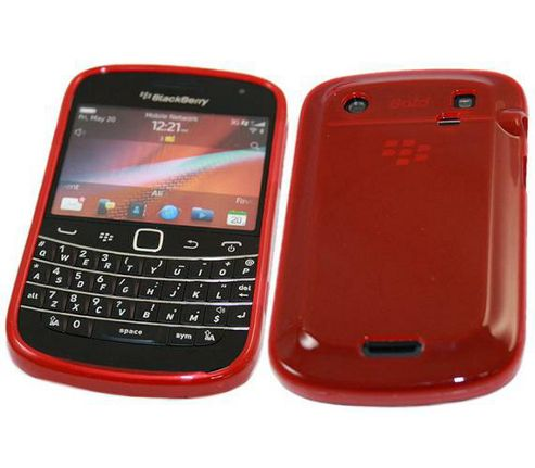 iTALKonline ProGel Skin Case Red - For  BlackBerry 9900 Bold Touch