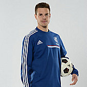 2013-14 Chelsea Adidas Sweat Top (Blue) - Blue