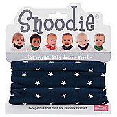 Snoodie Navy Navy Dribble bib