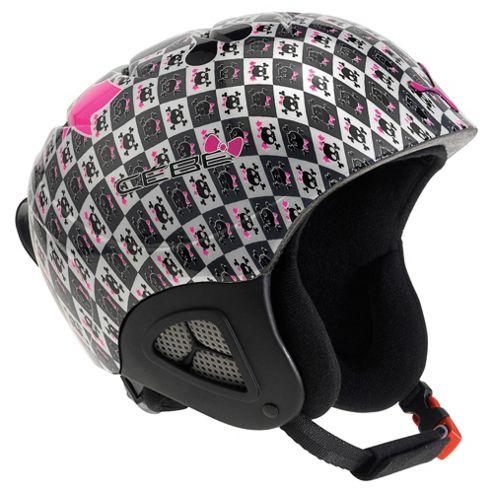 Cebe Pluma Ski Helmet Junior Pink Skull Girl 52-54