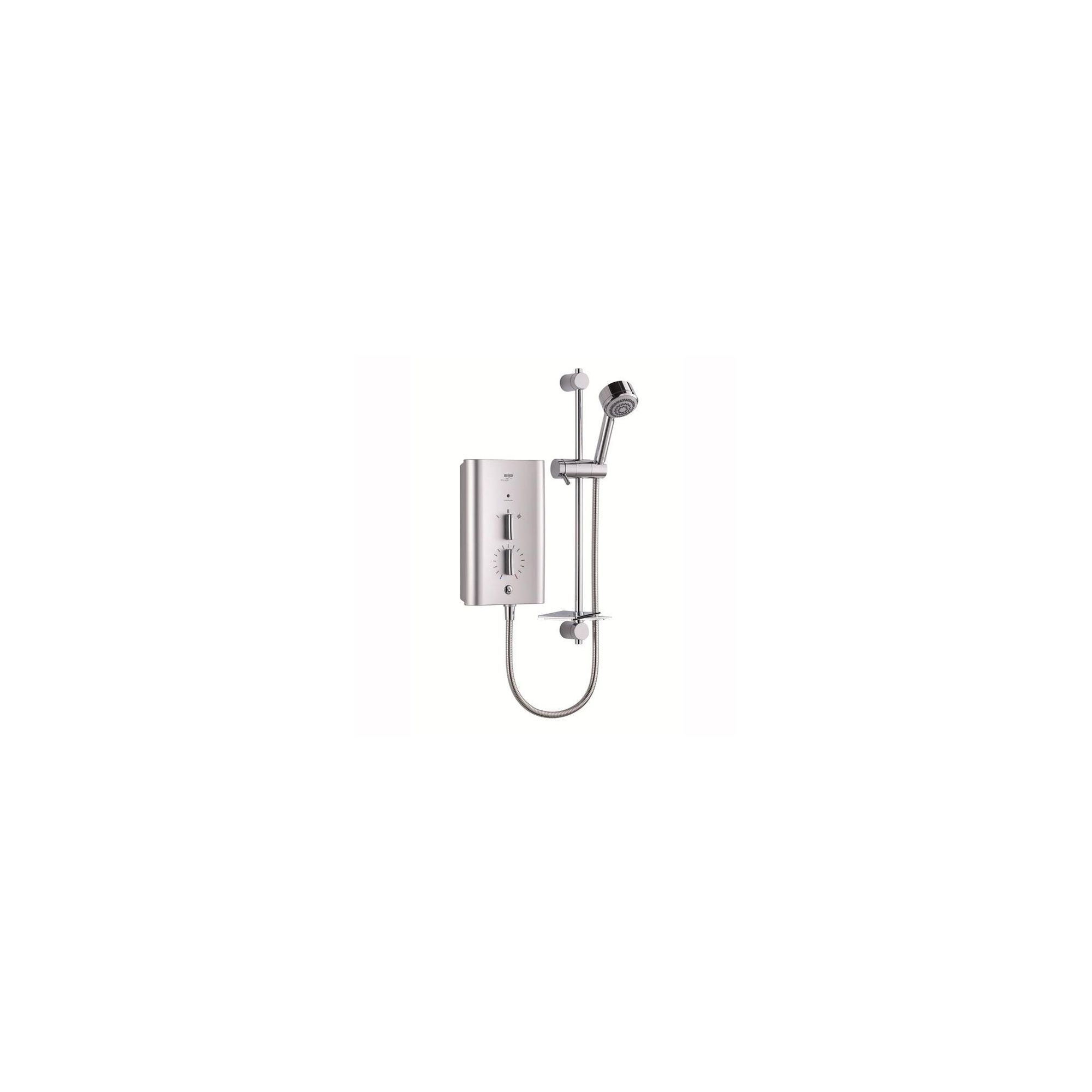 Mira Escape 9.8 kW Electric Shower, 4 Spray Handset, Satin Chrome at Tesco Direct