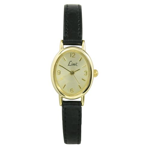 Limit Ladies Gold Face Watch