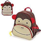Skip Hop Zoo Pack Kids Backpack & Lunch Bag - Monkey Bundle