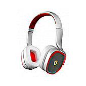 Ferrari by Logic3 R200-WHITE On Ear Headphones in White