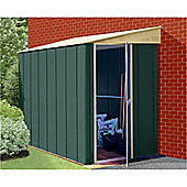 5ft x 8ft Premier Lean-To Metal Shed (1.54m x 2.46m)