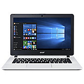"Acer ES1-331 13"" Intel Celeron 4GB RAM 1TB HDD Laptop White"
