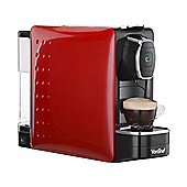 VonShef Coffee Pod Machine, compatible with Nespresso Capsules - 1250W - Red