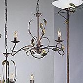 JH Miller Isabella Three Light Chandelier