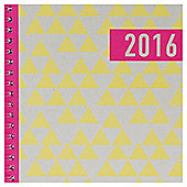 Tesco Neon Soft Cover 2016 Diary A5 WTV