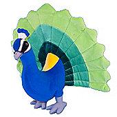 Dowman 33cm Peacock Plush Soft Toy