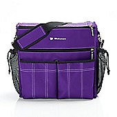 Bebemon Urban XL Baby Changing Bag - Violet Moon