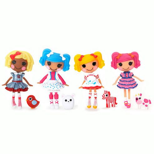 Mini Lalaloopsy Dolls 4 Pack - Set 14