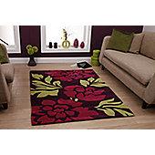 Oriental Carpets & Rugs Hong Kong 33L Purple/Green Rug - 150cm x 230cm