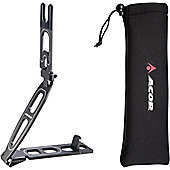 Acor Folding Bike Stand. Highly Portable, With Neoprene Carry Bag