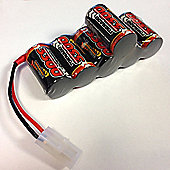 Overlander 3300Mah 7.2V Nimh Hump Battery Pack - Tamiya Sand Scorcher Frog 2591