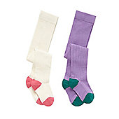 Little Bird Young Girls by Jools Tights - 2 Pack Size 18-24 months