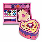 Decorate - Your - Own Wooden Heart Box - Melissa & Doug