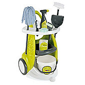 Smoby Children's Toy Cleaning Cart Play Trolley