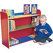 Liberty House Toys Primary Coloured 3 Shelf Bookcase