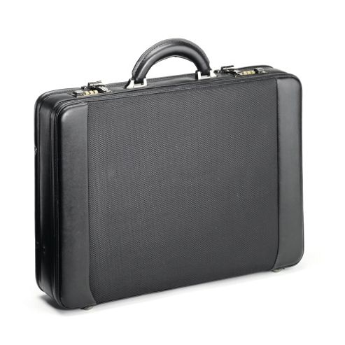 Falcon Expandable Attache briefcase with removable laptop bag