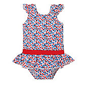 Mothercare Baby Girl's Floral Swimsuit Size 9-12 months