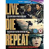 Edge Of Tomorrow Blu-ray - Live Die Repeat