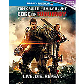 Edge Of Tomorrow Blu-ray