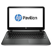 "HP Pavilion 15-p145na 15.6"" Laptop, AMD A10, 8GB RAM, 1TB - Silver"