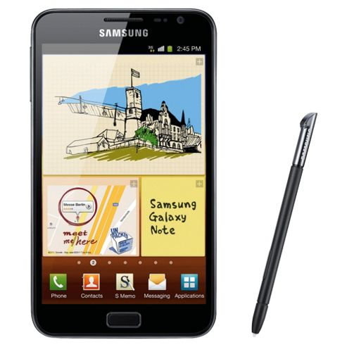SIM Free Unlocked Samsung Galaxy Note Black
