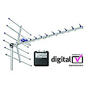 Maxview Digital Tourer High Gain TV Aerial with Digital TV Signal Finder