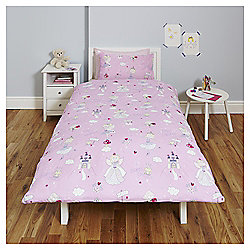 Fairy Princess Single Duvet Set